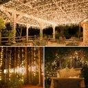 Drucik Solarny Lampki Dekoracja Ogród 10M 100 LED EAN 0791390062432