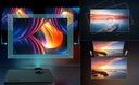 PROJEKTOR RZUTNIK LCD FULL HD 2500LM GŁOŚNIK 140'' Kolor czarny