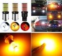 2szt Mocne żarówki LED T20 7440 WY21W 2800l CANBUS Typ żarówki WY21W