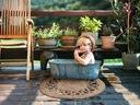 Dywan trawa taras balkon mata natura modny 60 cm Kod producenta boho słomiany morska pleciony