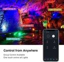 Reflektor zewnętrzny oświetlenie domu RGB LED WIFI Barwa światła inny