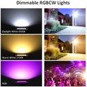 Reflektor zewnętrzny oświetlenie domu RGB LED WIFI Marka novostella