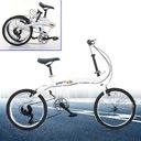 20calowy 7biegowy podwójny hamulec składany rower Płeć kobieta mężczyzna