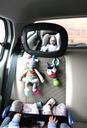 TULOKO Lusterko Podróżnika z uchwytami na zabawki Typ samochodu Samochody osobowe