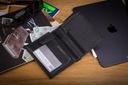 Skórzany portfel męski suwak BETLEWSKI RFID duży Kolekcja OPTIMAL