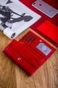 Skórzany portfel damski duży BETLEWSKI RFID Kolekcja BASIC