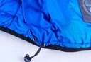 MĘSKA KURTKA ZIMOWA PUCHOWA FST WX033 BLUE _M Kolor niebieski