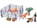 malowane figurki Koń KONIKI farmer ZAGRODA Kod producenta ZA2605