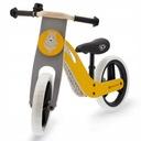 Rowerek biegowy drewniany Kinderkraft UNIQ rower Kolor Żółty