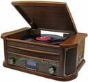 GRAMOFON RETRO RADIO DAB+ FM CD MP3 USB KASETA Marka Soundmaster