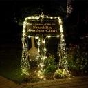 200 LED Girlandy Lampki Ogrodowe Solarne Wysoki 2m Waga (z opakowaniem) 0.3 kg