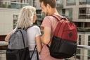 BETLEWSKI plecak podróżny młodzieżowy męski duży Głębokość (krótszy bok) 17 cm