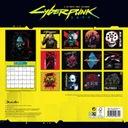 Oryginalny kalendarz Cyberpunk 2077 na rok 2021 Rozmiar inny
