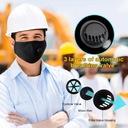 KOMPLET Maska+ 3x FILTR HEPA PM2.5 WĘGIEL FFP2 N95 Gęstość filtra PM 2.5 kurz/roztocza pyłki roślinne spaliny uciążliwe zapachy inne