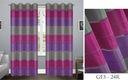 ZASŁONY GOTOWE firany zasłona W GRUBE PASY 145x250 Kod produktu GF3