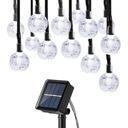 Lampki Solarne Ogrodowe Żarówka Lampa 30 LED 6.5 M Marka Lampy