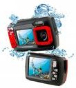 WODOODPORNY APARAT CYFROWY 14MPX 2x LCD + GRATIS