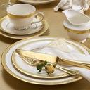 VILLA ITALIA RARITA GOLD Serwis obiadowy na 12 os