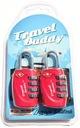 2x Kłódka na szyfr System TSA Travel Buddy OUTLET EAN 5901738521322