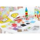 CzuCzu Mała akademia Kolory 18m+ Materiał Karton Papier