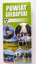 Gołdap. Powiat Gołdapski. Mapa + przewodnik ISBN 9788365984364