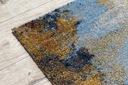 MIĘKKI DYWAN SOFT 160x220 PLAMKI niebieski #AT2261 Długość 220 cm