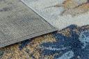 MIĘKKI DYWAN SOFT 120x170 KWIATY niebieski #AT2274 Długość 170 cm