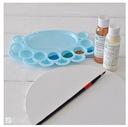 Mini paleta malarska Dp-Craft Paletka niebieska EAN 5907590002818