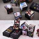 KOSTKI NA ZDJĘCIA - Exploding Box - DIY 3D Album Rodzaj podziękowania