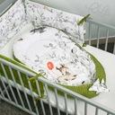 Ochraniacz do łóżeczka 180x30 na szczebelki 120x60 Marka PALULLI