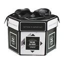 PUDEŁKO NIESPODZIANKA - Czarno-Biały Exploding Box Rodzaj podziękowania