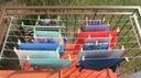 Suszarka na pranie balkon | KOMPLET DŁUGICH ŚRUB Marka Dobra Suszarka