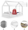 Łóżko dziecięce Domek1 stelaż materac od INTERBEDS Bohater inny