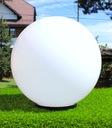 Kule ogrodowe - kula ogrodowa biała 40cm + oprawa Marka ros