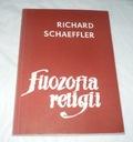 Książka Richard Schaeffler Filozofia religii ISBN 0007788850186