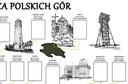 """Plakat """"Zdobywca Polskich Gór"""" Wysokość 59 cm"""