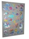 Naklejki Kayet - 4 arkusze Holograficzne Marka Kayet