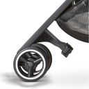 GB wózek POCKIT+ All Terrain Velvet Black Stelaż Aluminiowy