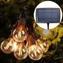 Girlandy Lampki Solarna żarówką Ogrodowa 10 LED Cechy dodatkowe wodoodporność zasilanie energią słoneczną