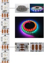 WS2812B Smart LED RGB 5m 60 led/m 5V pasek cyfrowy Długość 5 m