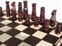 ORYGINALNE DREWNIANE SZACHY ZAMKOWE 60x60 cm ! Maksymalna liczba graczy 2