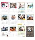 1 Фото-календарь формата А4+ ВАШИ ФОТОГРАФИИ, календари