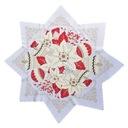 Obrus Świąteczny Kształt Gwiazdy, Gwiazda, śr 80m,