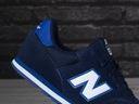 Buty, sneakersy sportowe New Balance YC373SN Kolor biały granatowy