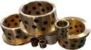 Tuleja ślizgowa stalowa brąz PTFE Tulejka 10x12x20 Kod producenta BS1020