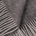 Dekoria Pled Zelandia 140x200 ciemny szary Długość 200 cm