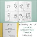 Logopedia głoski K G T D paronimy PDF przedszkole