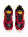 Buty męskie sneakersy adidasy T310 czerwone 42 Kolor podeszwy żółty