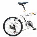 20calowy 7biegowy podwójny hamulec składany rower Kod producenta 1651149412316