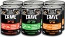 CRAVE bezzbożowy pasztet mix smaków 6x400g Marka Crave